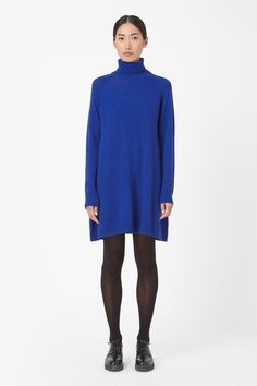 COS | Roll-neck knit dress