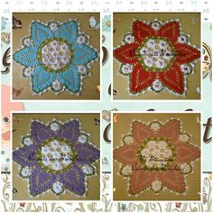 <3 Centrinho Floral  Passo a passo com fotos e explixação; Vem fazer o seu! :)  https://www.youtube.com/watch?v=0pKexQch65c