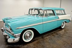 1956 Chevy Nomad wagon...