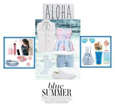 """""""On a summer day"""" by madhu-147 ❤ liked on Polyvore featuring maurices, Paul & Joe, Converse, Topshop, Opening Ceremony, Ray-Ban, Shiseido, Gray Malin, Rip Curl and Bare Escentuals"""