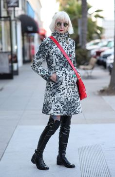 ADVANCED STYLE: These Boots Were Made For Walking