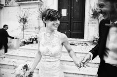 Monica and Manuele's first beautiful moments as newlyweds, captured by Barbara Zanon