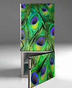 refridgetor  with  decals | ... for Fridge refrigerator decor sticker skins decals Kitchen decorations