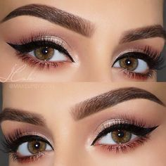"""ABH Modern Renaissance palette? ▪️EYES: All shadows are from the @anastasiabeverlyhills Modern Renaissance palette: """"Primavera"""" on the lid, """"Vermeer"""" in the inner corner, """"Buon Fresco"""" in the soft crease with """"Cyprus Umber"""" to define the crease. """"Red Ochre"""" along the lower lash line"""