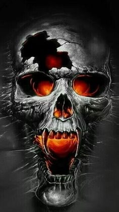 Our Website is the greatest collection of tattoos designs and artists. Find Inspirations for your next Skull Tattoo. Search for more Tattoos. Dark Fantasy Art, Dark Art, Skull Tattoos, Body Art Tattoos, Evil Skull Tattoo, Uv Tattoo, Totenkopf Tattoos, Skull Pictures, Airbrush Art