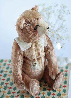 Мишка Сентябрь.. Handmade.