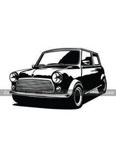 1985 MINI Cooper vector Monster Car, Car Vector, Mini Cooper S, Vector Illustrations, Classic Mini, Art Logo, More Fun, Minis, Logo Design