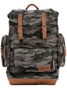 EASTPAK camouflage backpack. #eastpak #bags #leather #nylon #backpacks #