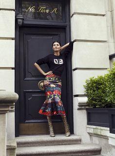 Giovanna Battaglia for S Moda