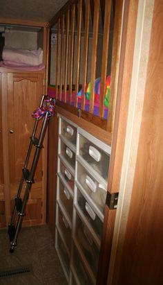 Bunk Rail Child Restraint System For Upper Bunk Crafts