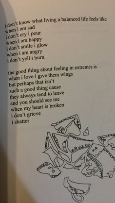 "bpdjelly: "" so i got this new poetry book and i thought it'd ring w some borderlines like it did me,, it's from milk and honey by rupi kaur!! """