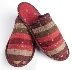 Quilted Slippers!