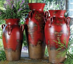 Fairhaven Pottery Vases - Set of 3