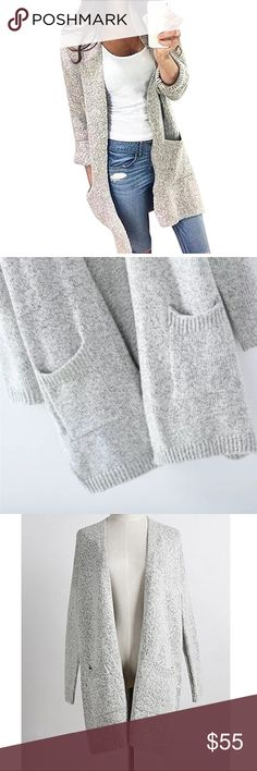 Leliy sweater cardigan Upper soft ! Soft knitted material- preorders now/ arriving 24th sep Sweaters Cardigans