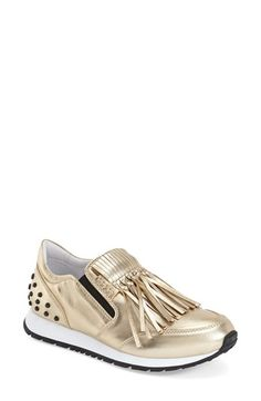 Tod's Fringe Loafer Sneaker available at #Nordstrom