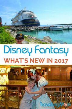 Three enhancements to the Disney Fantasy for 2017 plus 6 reasons sailing onboard a Disney Cruise Line ship is always a family fun way to travel.