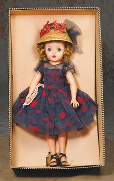 "revlon dolls | 255: ""MISS REVLON"" BY IDEAL. Marks: Ideal Doll VT-1 : Lot 255"