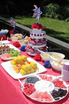 Everything you need to throw a 4th of July party already to go in one package!!!