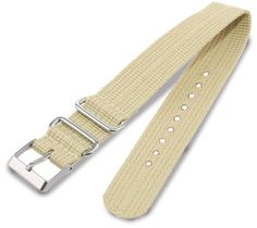 Timex T7B896 Weekender 20mm Tan Nylon Slip-Thru Watch Strap by Timex Watch Bands -- Awesome products selected by Anna Churchill