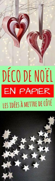 Les meilleures idées pour fabriquer soi-même sa décoration de Noël en papier !