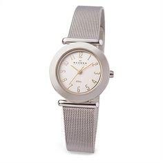 Skagen  Ladies Silver Mesh Bracelet Watch
