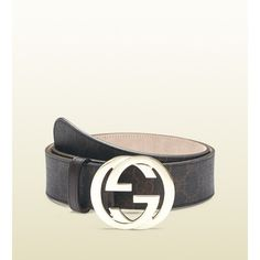 9d499cb5a03 Gucci Gg Supreme Canvas Belt With Interlocking G Buckle  325 Mens  Essentials