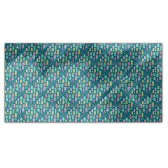 Uneekee Doodle City Rectangle Tablecloth