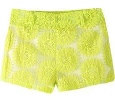 Retro Lace Shorts