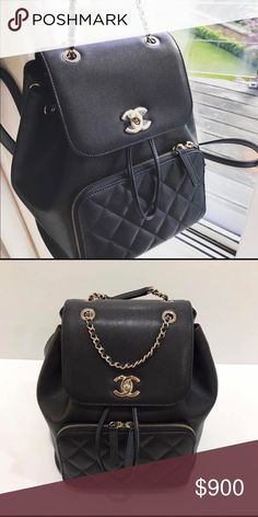 79bf9ddd7e11 Chanel Business Affinity Backpack SOLD OUT EVERYWHERE! Only selling through  🅿 🅿 so text me if you re interested.