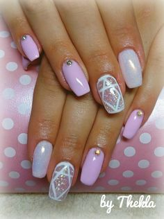 Pink_mermaid effect_nails