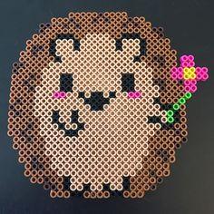 Hedgehog perler beads by  mortyalf