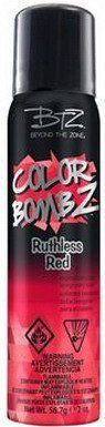 Beyond the Zone Color Bomb Z Ruthless Red Temporary Hair Color 2 oz Hair Color Glaze, Temporary Hair Color, The Zone, Color Change, Color 2, How To Make Hair, 2 Colours, Red Hair, Sensitive Skin