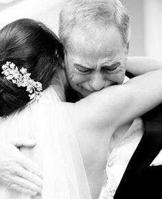"""Still on the fence about whether to do a """"First Look"""" with your groom? Why not do a """"First Look"""" with your dad instead? After all, he was the first man in your life and probably the most influential. The moment a father sees his little girl in her wedding dress is both emotional and …"""