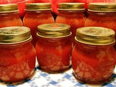 Tastee Recipe Homemade Spaghetti Sauce: Easier Than You Could Ever Imagine! - Page 2 of 2 - Tastee Recipe Honey Barbecue Sauce, Barbecue Sauce Recipes, Homemade Spaghetti Sauce, Homemade Tomato Sauce, Canning Tips, Home Canning, Paleo Ketchup, Summer Tomato, Fruit And Veg