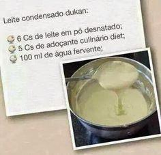 Dieta Dukan - : Fase Ataque - leite Condensado Dukan