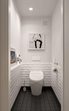Scandinavian bathroom design ideas with white shades that you . - Scandinavian bathroom design ideas with white shades that you - Scandinavian Bathroom Design Ideas, Bathroom Design Small, Scandinavian Style, Bath Design, Tile Design, Toilet Tiles Design, Scandinavian Toilets, Small Toilet Design, Vanity Design