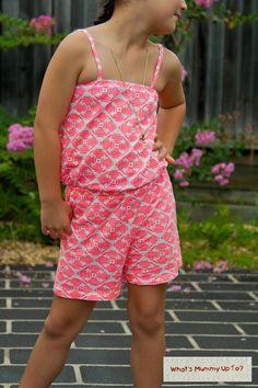 What's Mummy Up To ...: Tutorial: Summer Jumpsuit