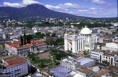 San Salvador, El Salvador. Some people were taken back when we told them we were going here. We loved it.