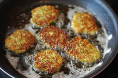 Cooking With Ryan: Zucchini Cakes (Fritters)!
