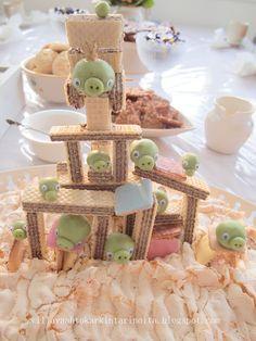 Hauska synttärikakku! Diy Food, Food Inspiration, Breakfast, Birthday, Cake, Party, Kids, Morning Coffee, Young Children