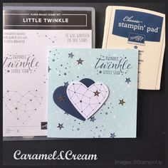 Little Twinkle - Stampin Up Kids Cards, Baby Cards, Birthday Thank You Cards, Stamping Up Cards, Card Tutorials, Love Cards, Halloween Cards, Paper Cards, Little Star
