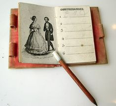 Interesting and forgotten - the life and curiosities of past eras. - Ballroom notebook-carnet de bal