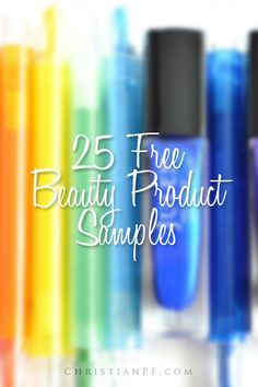25 Free beauty product samples for 2014
