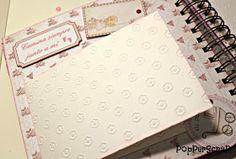PopPerScraP: Álbum bebe Dayka niña Album Scrapbook, Arts And Crafts, Scrapbooking, Aurora, Ideas, Baby Scrapbook Layouts, Baby Mini Album, Birth, Blue Prints