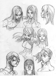 Female character design, character drawing, character sketches, character d Character Design Cartoon, Character Sketches, Character Design References, Character Drawing, Character Design Inspiration, Character Illustration, Character Concept, Concept Art, Animation Character