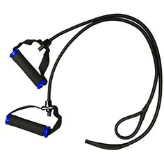Pack of 2 Fitness Pull-up Tube Resistance Bands Workout Exercise Compatible for Billy's Bootcamp Tae Bo Bands Yoga Physio Crossfit ** You can find more details by visiting the image link. (This is an affiliate link and I receive a commission for the sales)