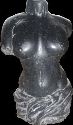 Female Torso - Blue Limestone Female Torso, Sculpture, Stone, Blue, Rock, Sculptures, Stones, Sculpting, Statue