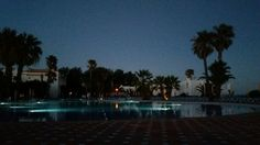 Ending a great day by the pool at Golden Club Cabanas.