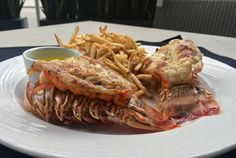 Grille 401 Lobster Tails - YUM!