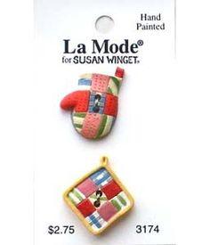 アメリカで販売されているBlumenthal Lansing社の『La Mode』シリーズのボタンです。・Hand Painted 2個セット※ 途中値上げさ... ハンドメイド、手作り、手仕事品の通販・販売・購入ならCreema。